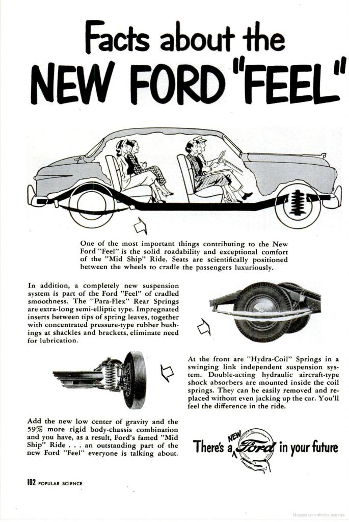 1949 ford ads